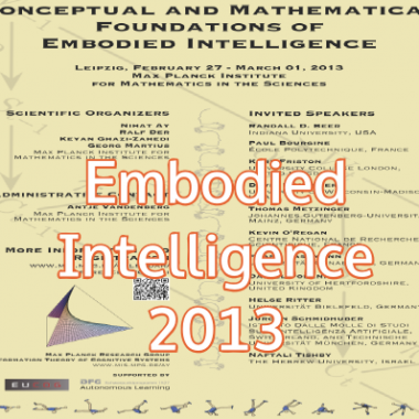 Workshop: Conceptual and Mathematical Foundations of Embodied Intelligence